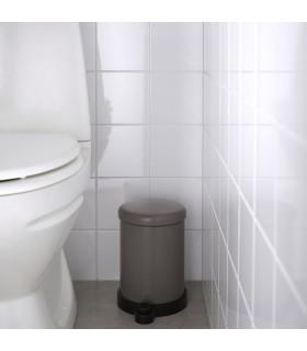 سطل زباله پدالی ایکیا مدل TOFTAN رنگ خاکستری