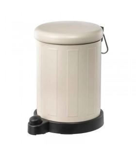 سطل زباله پدالی ایکیا مدل TOFTAN رنگ بژ
