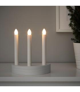 ست شمعدان LED ایکیا مدل STRÅLA