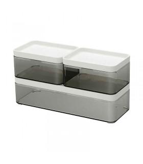 باکس درب دار ایکیا مدل BROGRUND بسته سه تائی