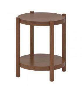 میز کنار مبلی ایکیا مدل LISTERBY رنگ قهوه ای