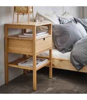 میز کنار تختی ایکیا مدل NORDKISA