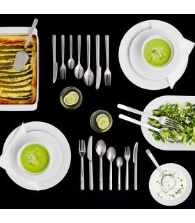 سرویس قاشق چنگال و کارد ایکیا مدل IKEA 365+ ست 24 تایی