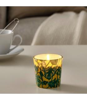 شمع لیوانی ایکیا مدل AVLÅNG رنگ زرد