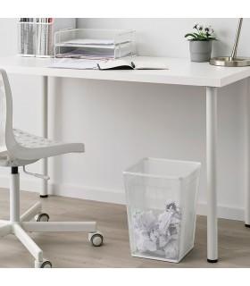 سطل زباله اداری ایکیا مدل DRÖNJÖNS رنگ سفید