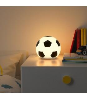 چراغ خواب LED ایکیا مدل ÄNGARNA طرح توپ فوتبال