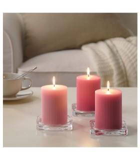 شمع معطر ایکیا مدل BLOMDOFT بسته سه تائی