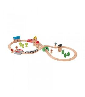 ست قطار چوبی ایکیا مدل LILLABO