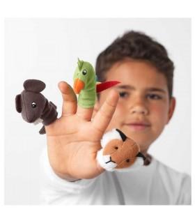 عروسک انگشتی ایکیا مدل TITTA DJUR بسته ده تائی