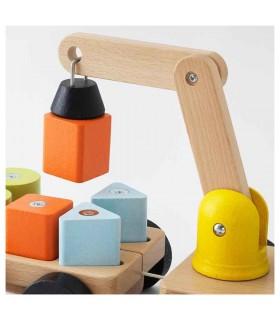 بازی جرثقیل چوبی ایکیا مدل MULA