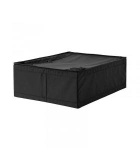 باکس ذخیره مشکی ایکیا مدل SKUBB سایز 44x55x19
