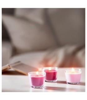 شمع ایکیا مدل BRÄCKA بسته سه تائی