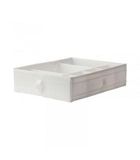 باکس محفظه دار ایکیا مدل SKUBB رنگ سفید