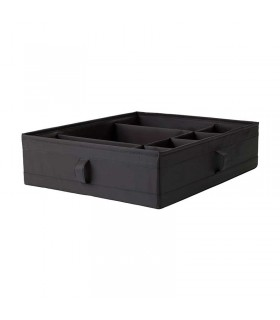 باکس محفظه دار ایکیا مدل SKUBB رنگ مشکی