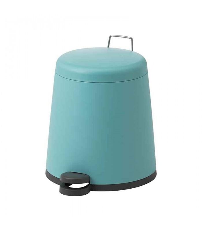 سطل زباله پدالی ایکیا مدل SNÄPP رنگ آبی