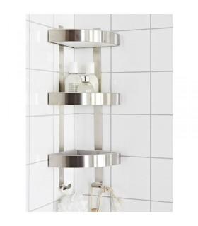 شلف گوشه حمام ایکیا مدل GRUNDTAL
