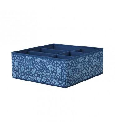 جعبه نظم دهنده ایکیا مدل STORSTABBE رنگ آبی