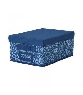 جعبه درب دار ایکیا مدل STORSTABBE رنگ آبی
