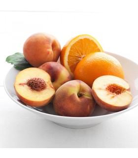 شمع معطر ایکیا مدل SINNLIG با رایحه هلو و پرتقال بسته 12 تایی