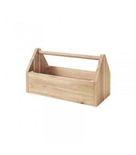 جعبه چوبی ایکیا مدل SKOGSTA