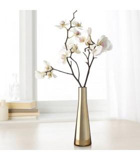 گلدان ایکیا رنگ برنجی مدل UPPGJORD سایز21 سانتیمتری