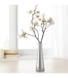 گلدان ایکیا رنگ نقره ایی مدل UPPGJORD سایز21 سانتیمتری