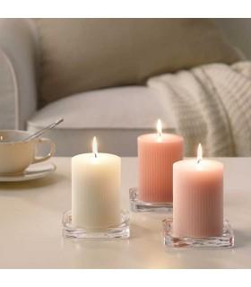 شمع معطر ایکیا مدل BLOMDOFT بسته سه تایی