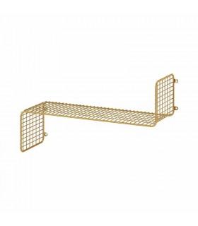 شلف دیواری ایکیا مدل SVENSHULT رنگ طلایی