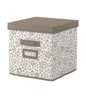 جعبه درب دار ایکیا مدل STORSTABBE سایز 30x30x30