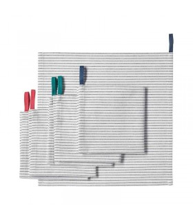دستمال آشپزخانه ایکیا مدل GRUPPERA بسته شش تایی