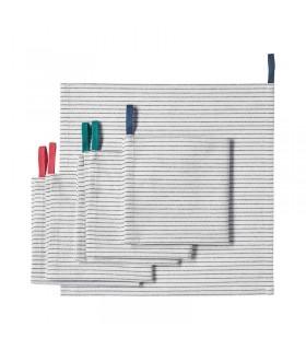 دستمال آشپزخانه ایکیا مدل GRUPPERA ست 6 تایی