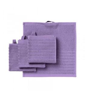 حوله دست ایکیا مدل VÅGSJÖN بسته 4 تایی رنگ بنفش