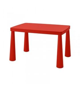 میز تحریر کودک ایکیا مدل MAMMUT رنگ قرمز