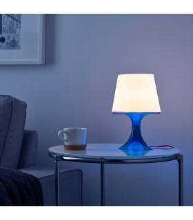 آباژور ایکیا مدل LAMPAN رنگ آبی
