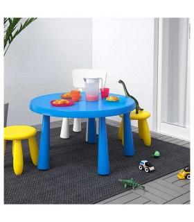 میز تحریر کودک گرد ایکیا مدل MAMMUT