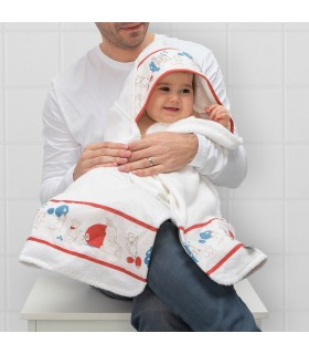 حوله حمام نوزاد ایکیا مدل RÖDHAKE