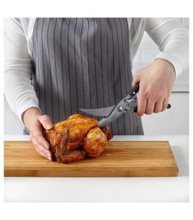 قیچی آشپزخانه مرغ و ماهی ایکیا مدل PRESTERA