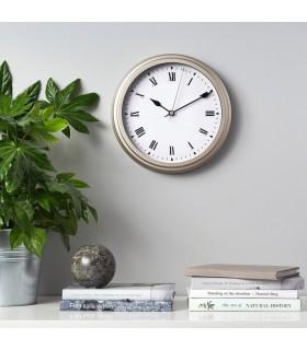 ساعت دیواری ایکیا مدل VISCHAN رنگ بژ