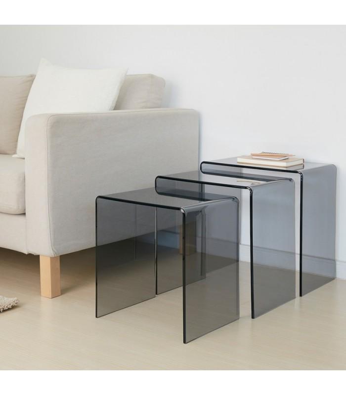میز کنار مبلی ایکیا مدل JÄPPLING ست 3 تایی