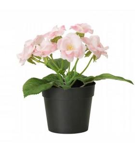 گل و گلدان بوته رز ایکیا مدل FEJKA