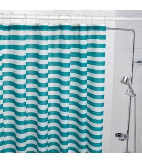 پرده حمام ایکیا مدل VADSJÖN آبی روشن