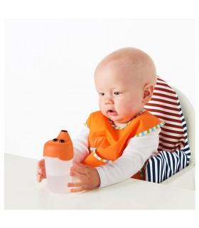 بطری نوشیدنی کودک مدل SMASKA رنگ نارنجی