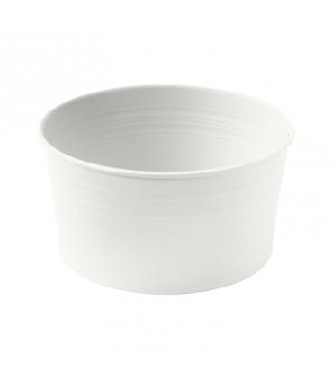 گلدان فلزی ایکیا مدل SOCKER رنگ سفید