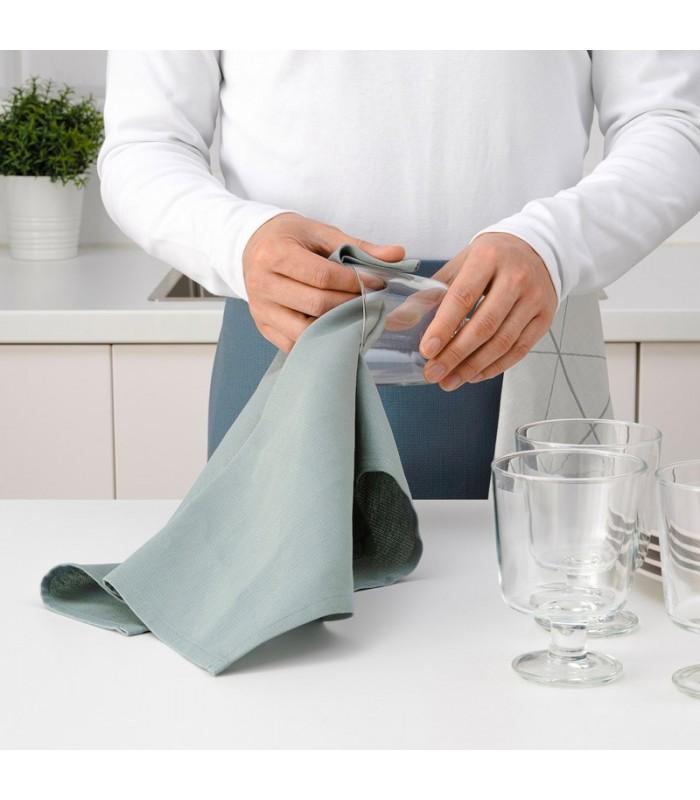 دستمال آشپزخانه ایکیا مدل SANDVIVA ست 2 تایی