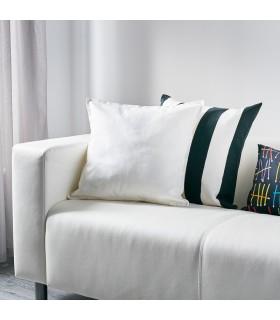 کاور کوسن ایکیا مدل GURLI رنگ سفید