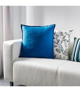 کاور کوسن ایکیا مدل GURLI رنگ آبی