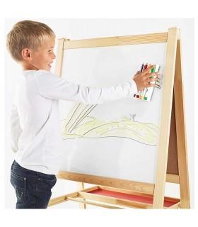 ماژیک و تخته پاک کن وایت برد ایکیا مدل MÅLA چهار رنگ