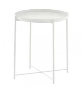 میز عسلی ایکیا مدل GLADOM رنگ سفید