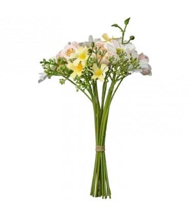 دسته گل رنگی ایکیا مدل SMYCKA سایز 23 سانتی متری