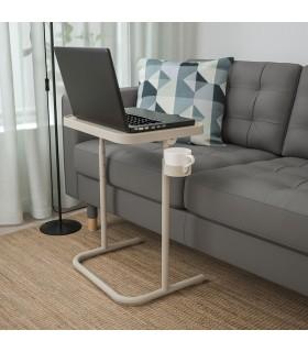 میز لپ تاپ ایکیا مدل BJÖRKÅSEN رنگ بژ